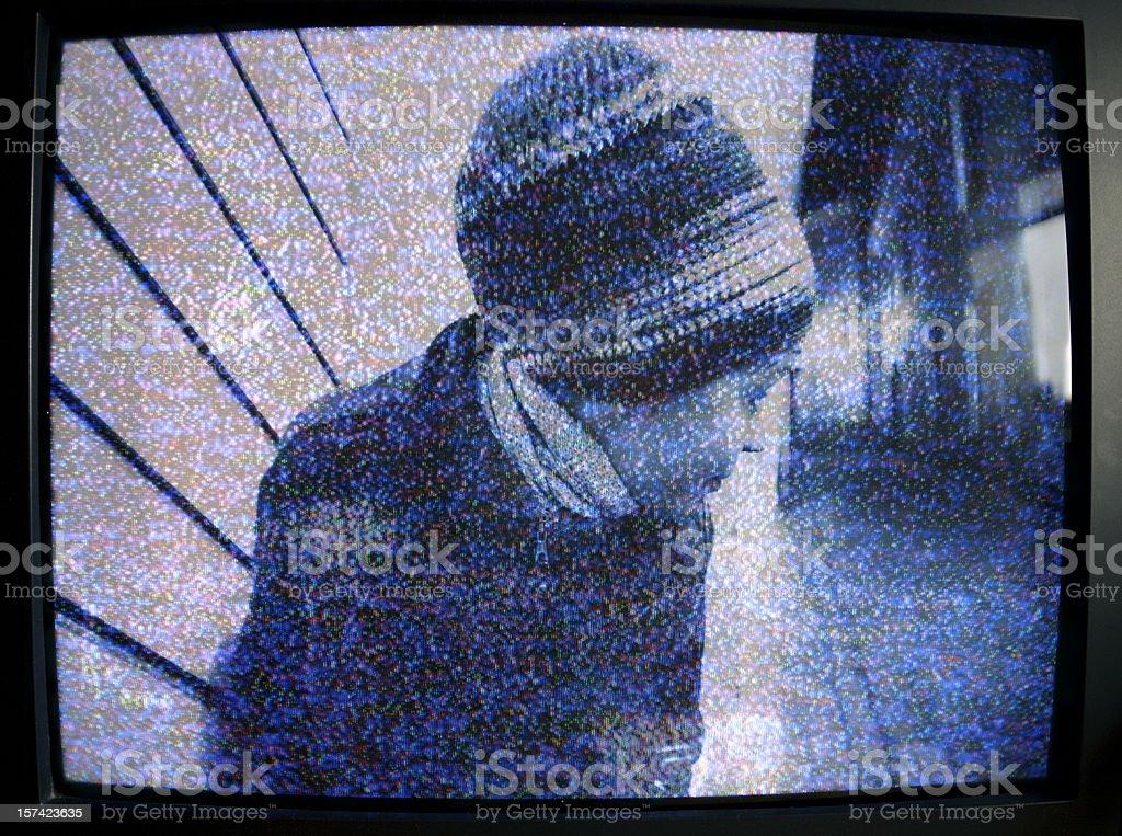 monitor de segurança - Royalty-free Adulto Foto de stock