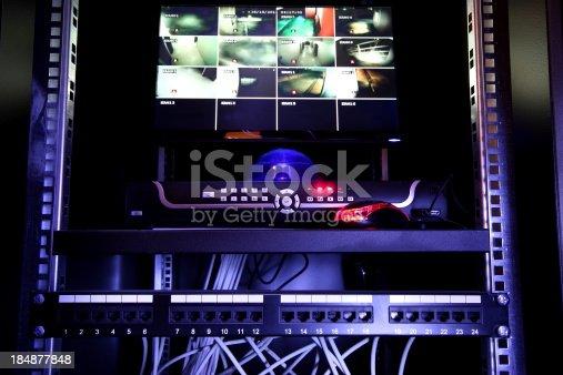 istock Security Monitor 184877848