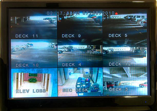 Sicherheit Überwachung Bildschirm – Foto