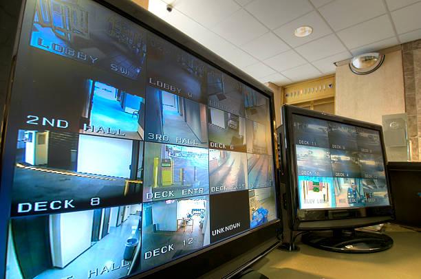 Sicherheit Überwachung Station – Foto