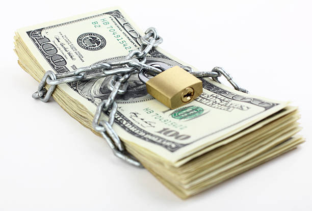 Security of money Security of money miserly stock pictures, royalty-free photos & images