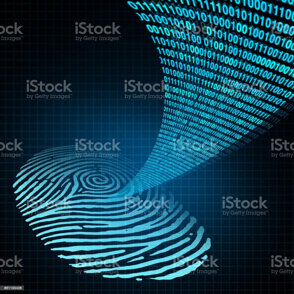 Security Password stock photo
