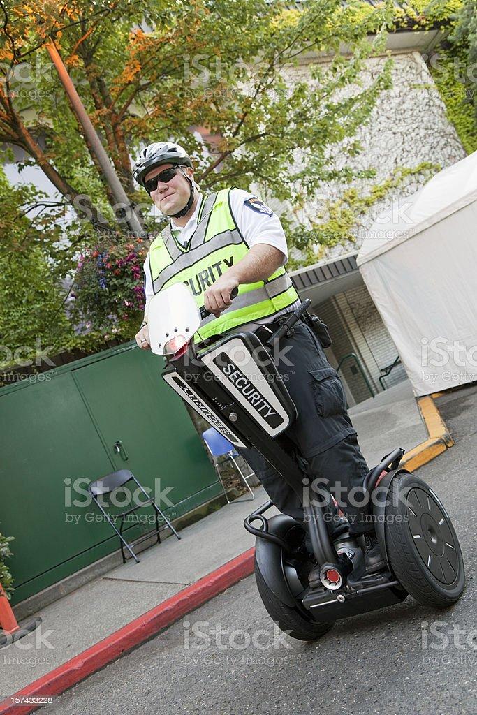 Security Patrol stock photo