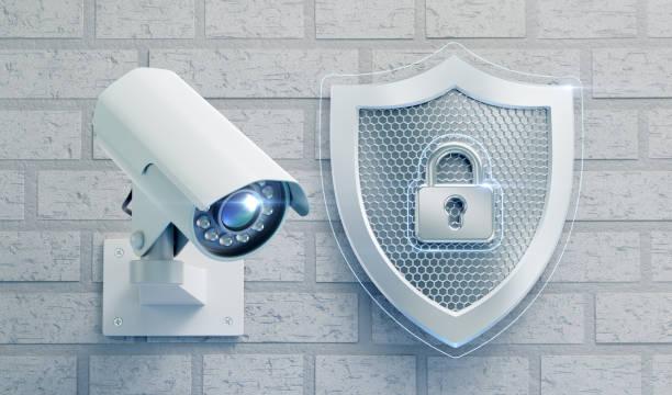 CCTV Security stock photo