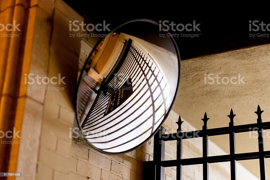 Security Reflection stock photo