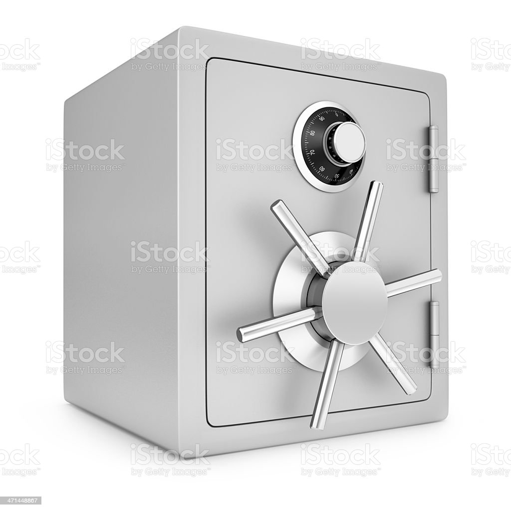 Security safe royalty-free stock photo