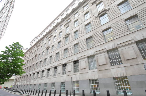 MI5 security Service London UK stock photo