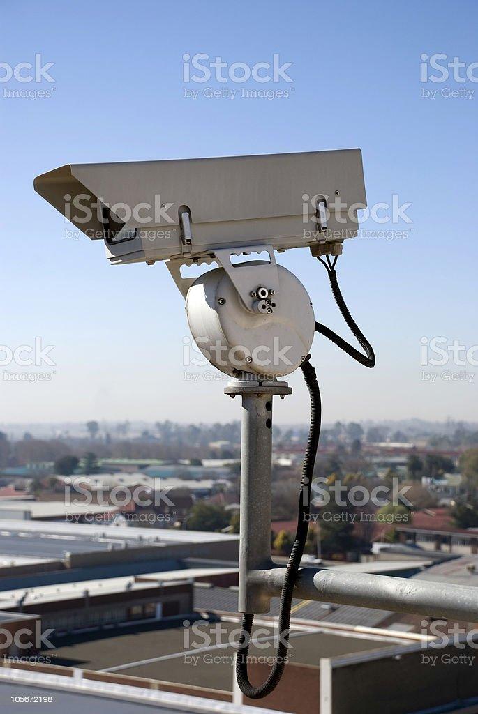 Security Surveillance Camera royalty-free stock photo