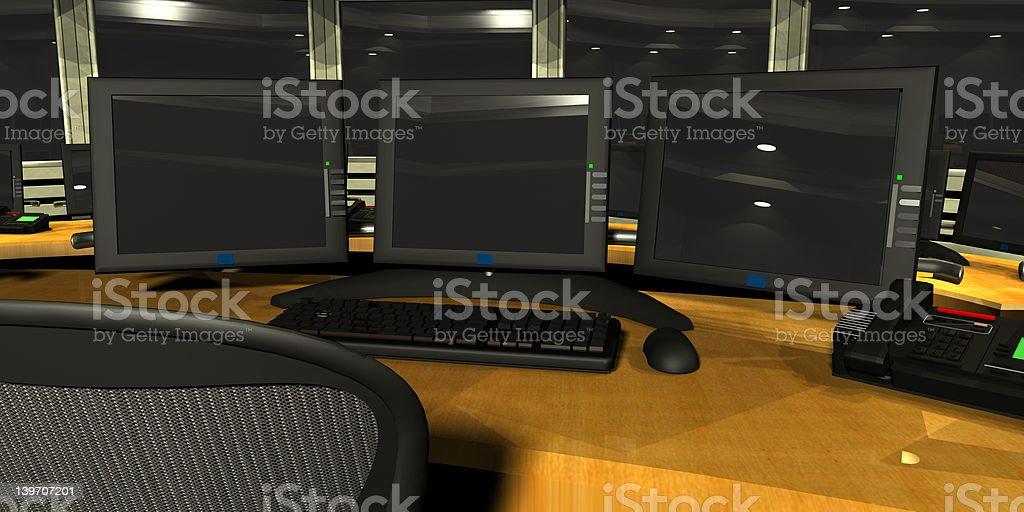 Security Surveillance royalty-free stock photo