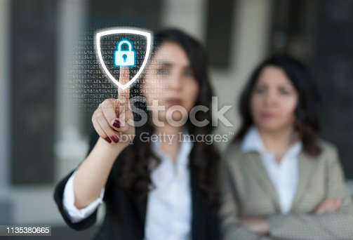 532351758 istock photo Security system concept 1135380665
