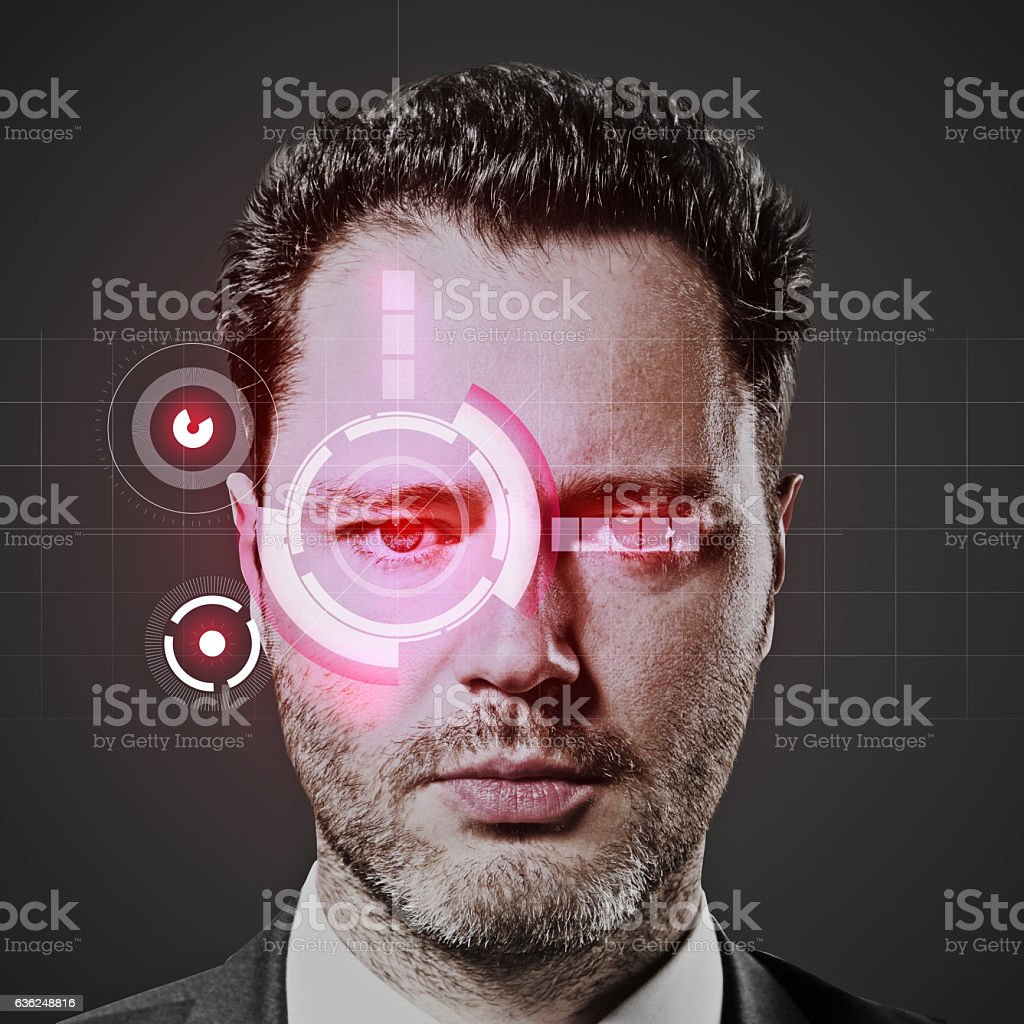 Security system concept stock photo