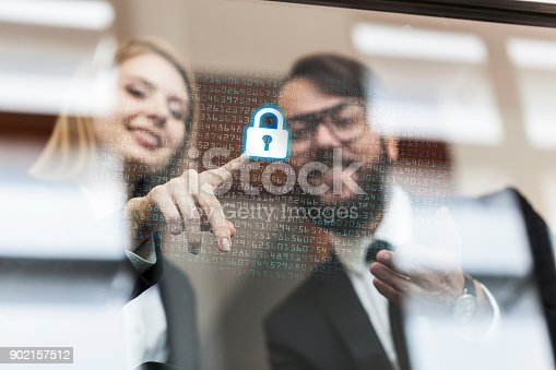 532351758 istock photo Security systems for Business 902157512