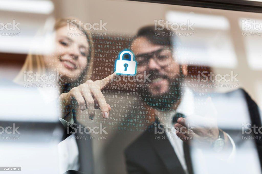 Sicherheitssysteme für Unternehmen – Foto