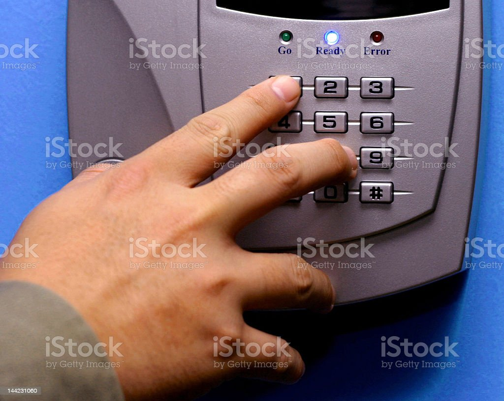 Security Systems royalty-free stock photo