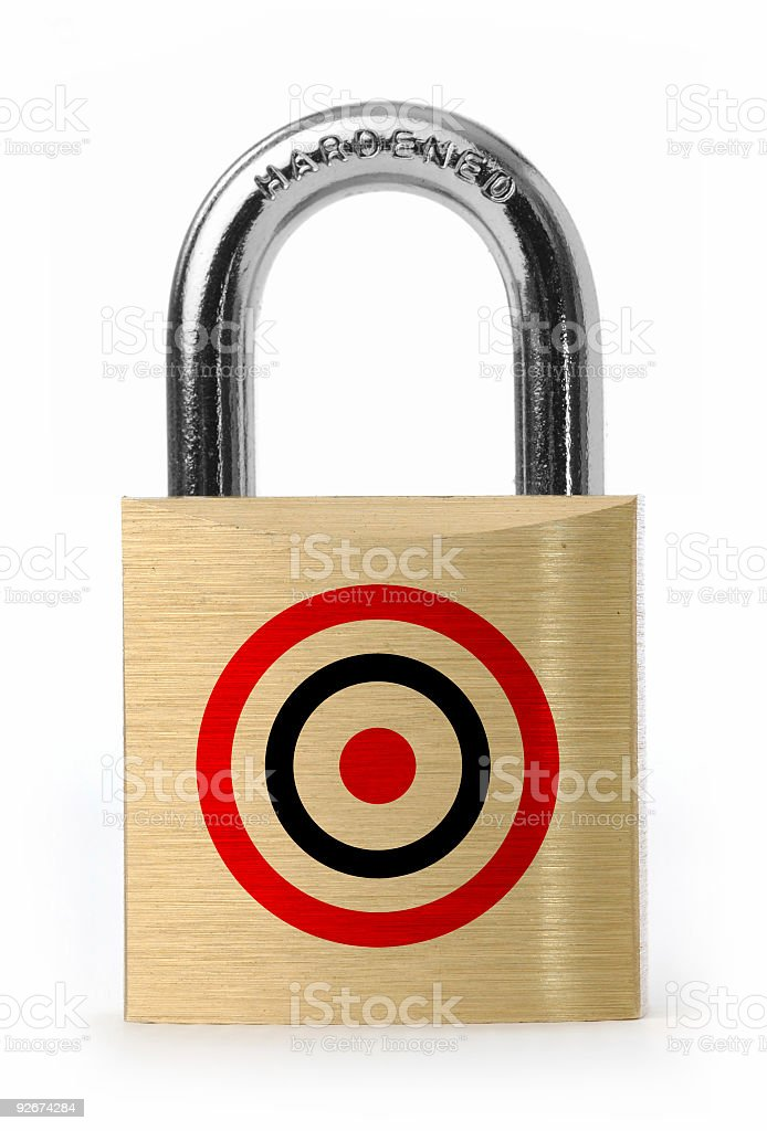 security target royalty-free stock photo