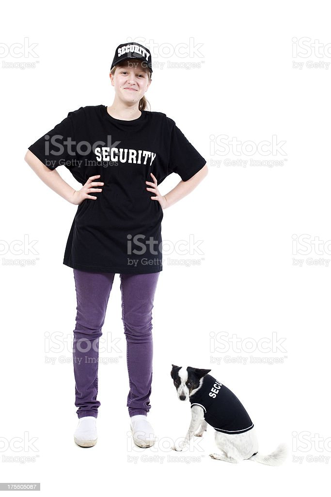 Security Team royalty-free stock photo