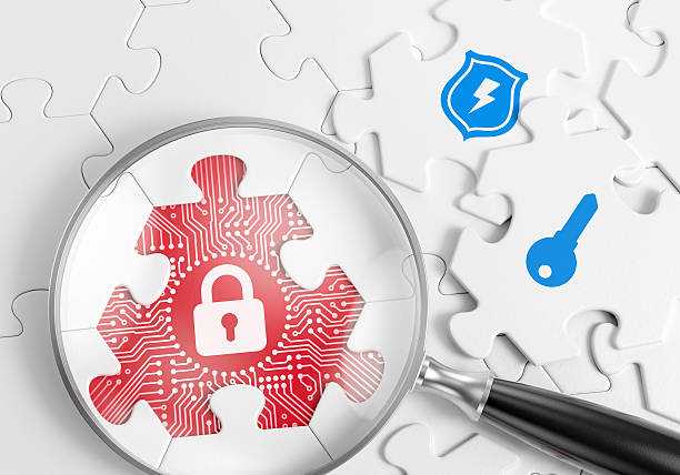 Security Vulnerability Search stock photo