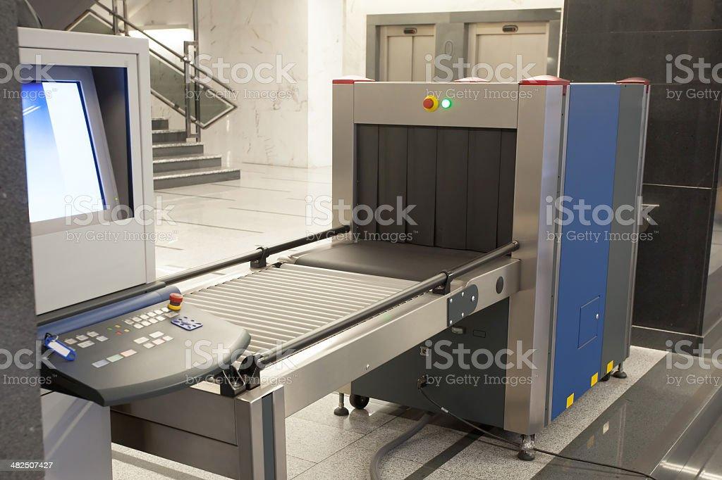 Sicherheit x-ray-Maschine – Foto