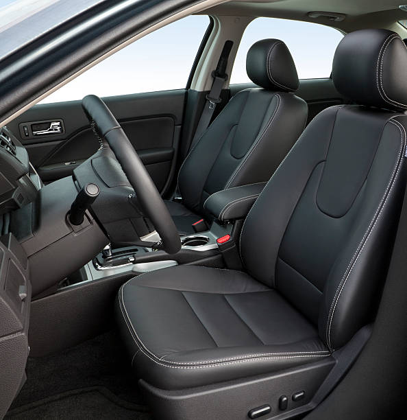 sedan interior - car interior stock photos and pictures