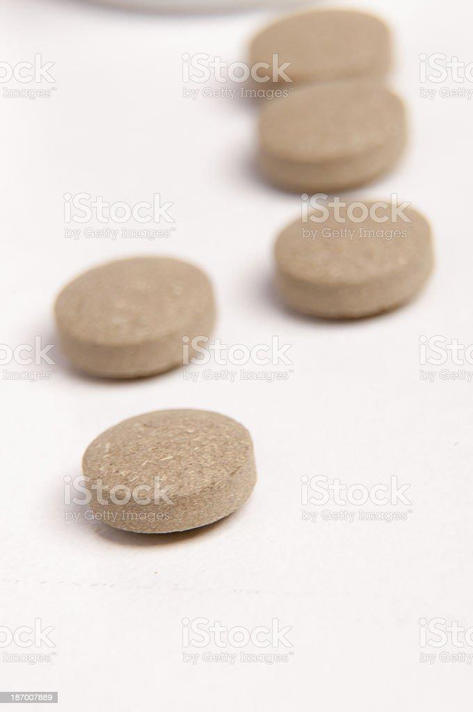 Sedative pills royalty-free stock photo