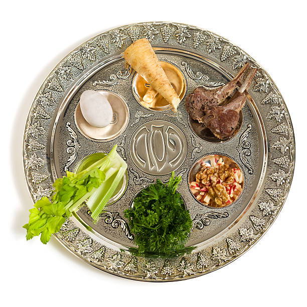 Seder plate  seder plate stock pictures, royalty-free photos & images
