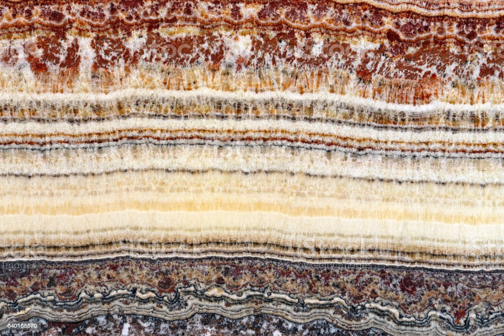 Sedimentary Layers stock photo