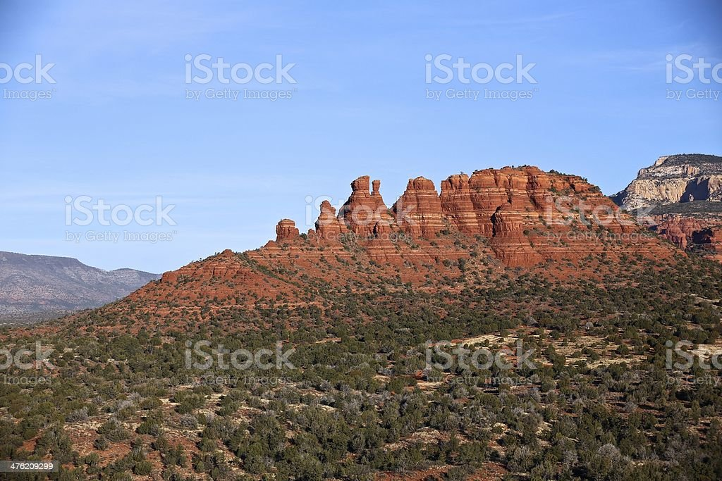 Sedona Arizona Ballooning royalty-free stock photo