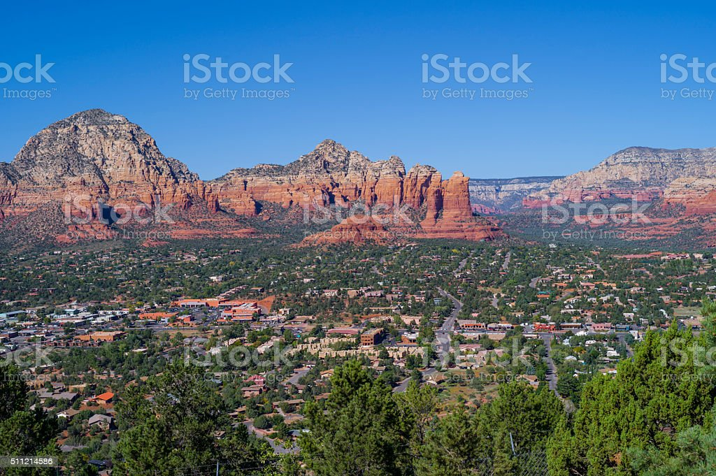 Sedona Arizona stock photo