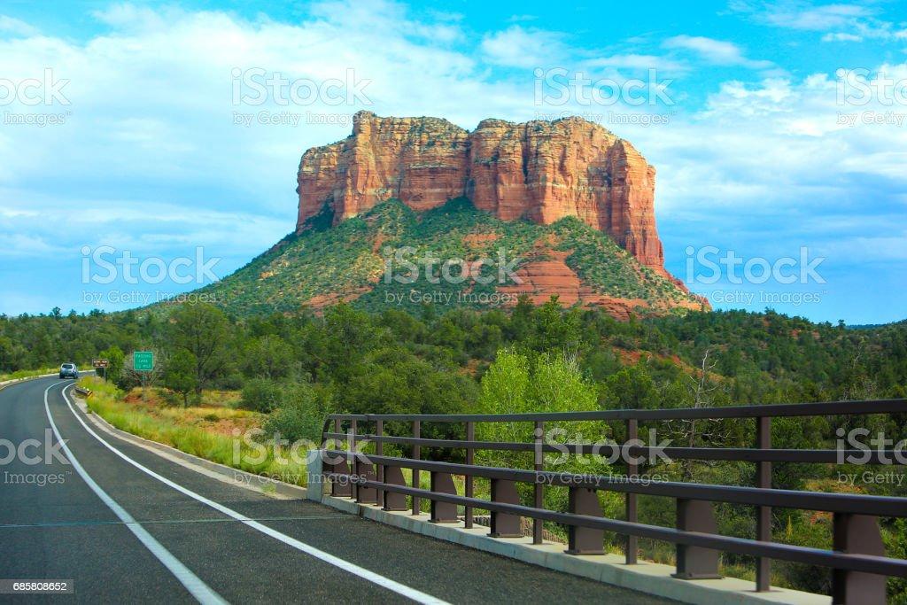 Sedona Arizona Red Rocks stock photo