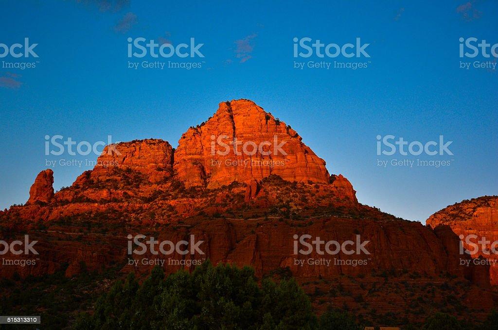 Sedona, Arizona, Top of the Bell Rock stock photo