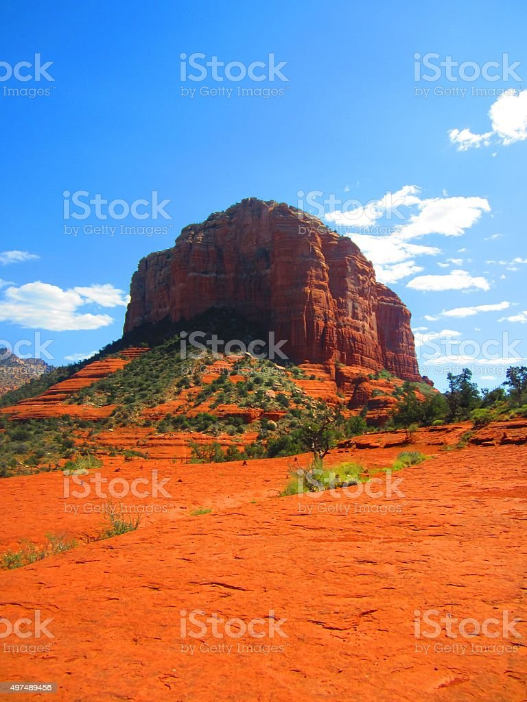 Sedona Bell Rock Formation Arizona stock photo