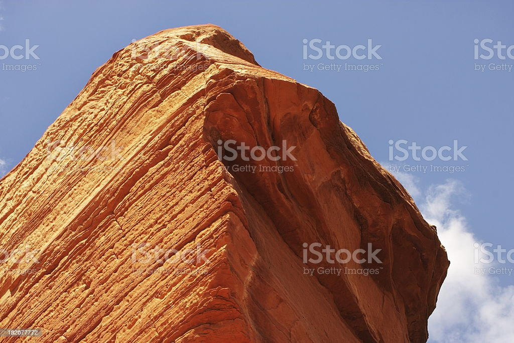 Sedona Boulder Red Rock Sandstone royalty-free stock photo