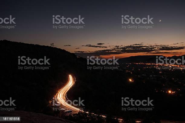 Photo of Sedona by night