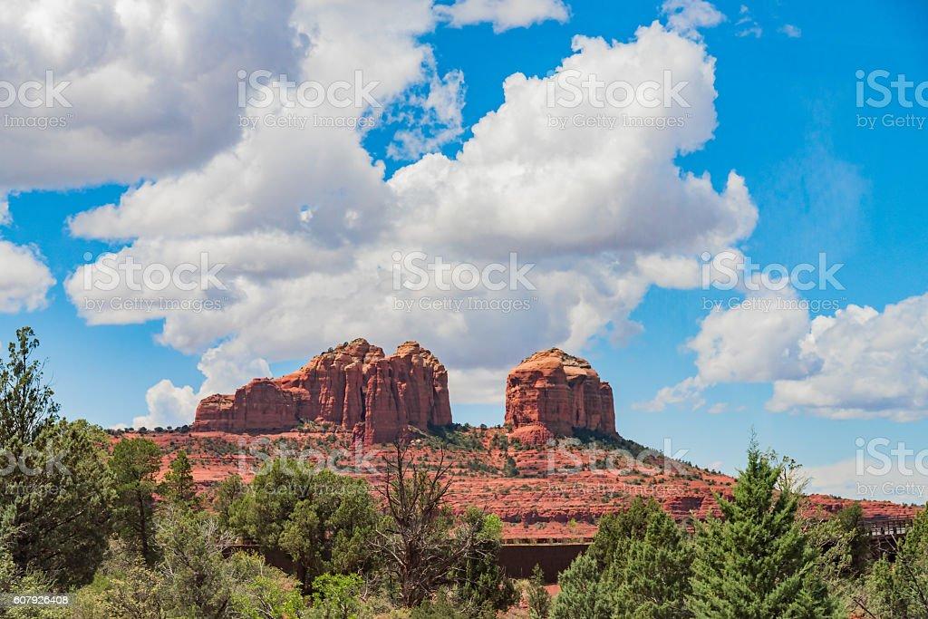 Sedona in Arizona,USA stock photo