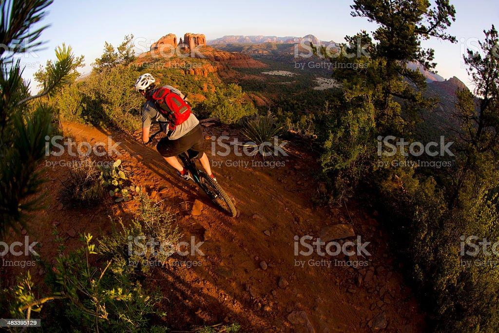 Sedona Mountain Biking royalty-free stock photo