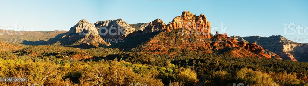 Sedona Panorama High Res Banner Style Landscape Background Stock Photo Download Image Now Istock