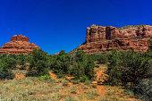 Landscape of Sedona Arizona red rocks