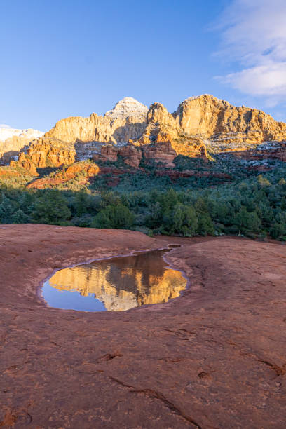 Sedona Red Rock Sunset stock photo