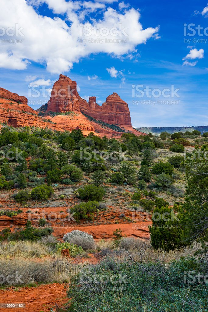 Sedona Red Rocks stock photo