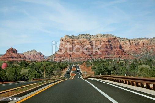 Sedona, Arizona had built a beautiful new highway into this scenic area.