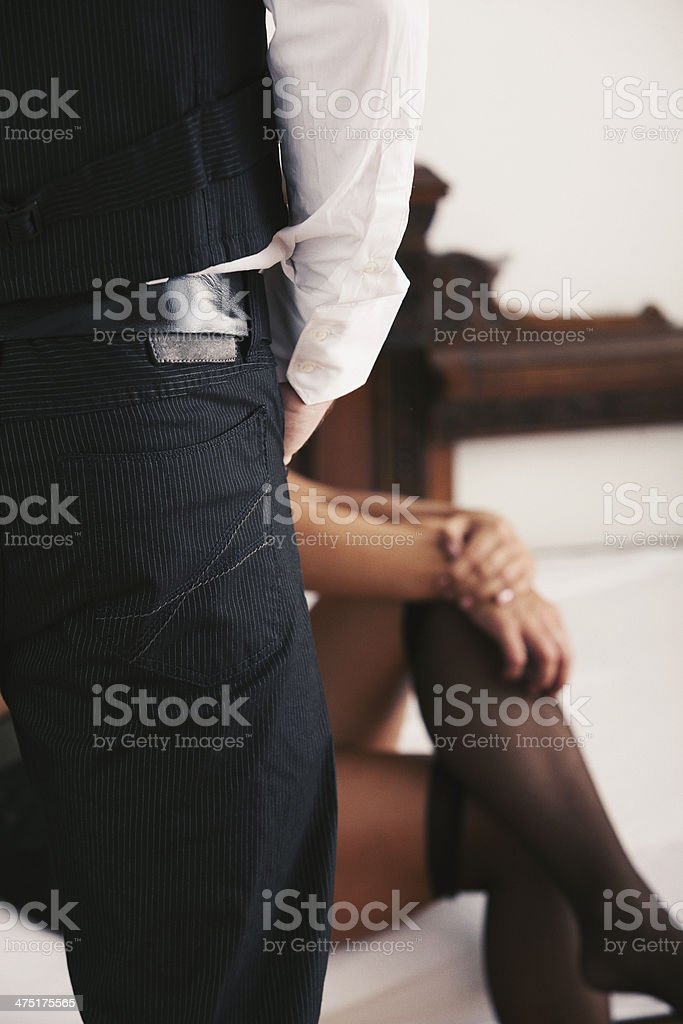 Seduction games stock photo