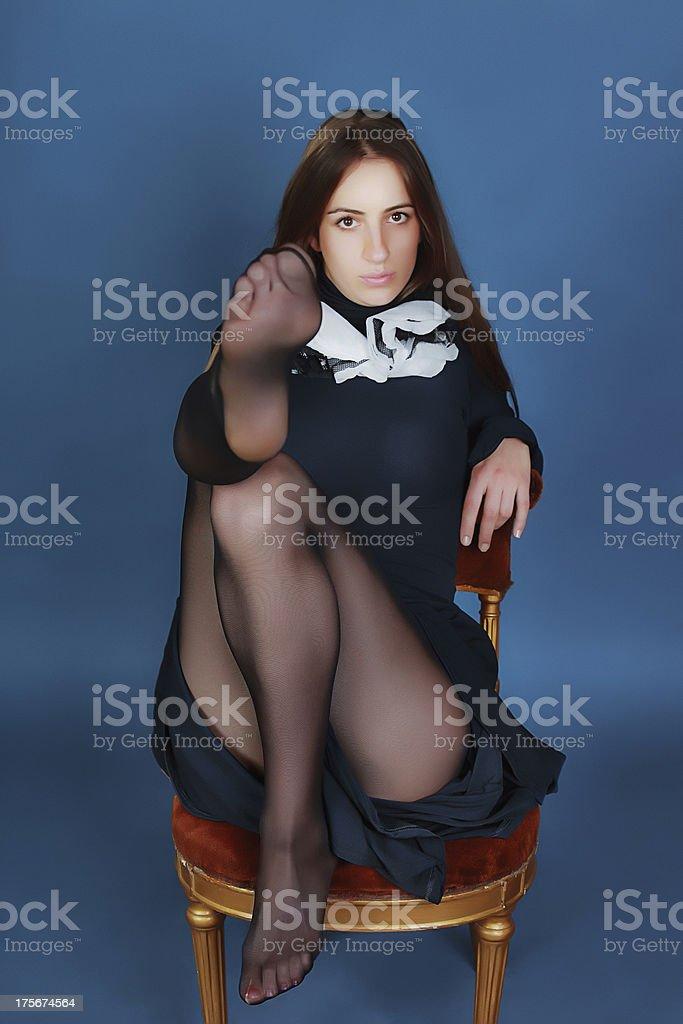Seduction stock photo