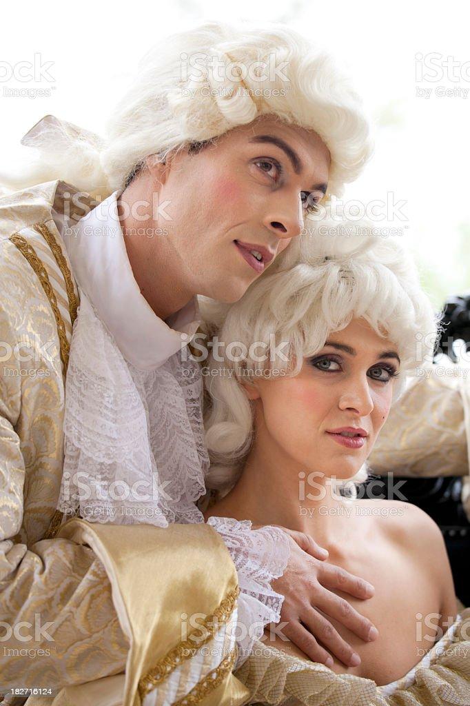 Seduction royalty-free stock photo
