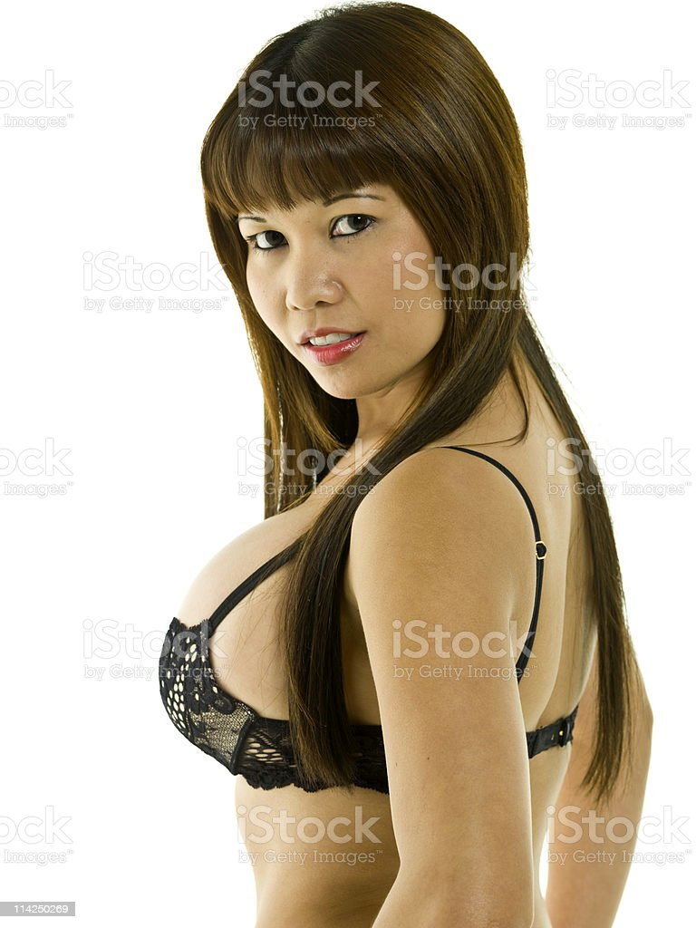 Seductive Angel royalty-free stock photo