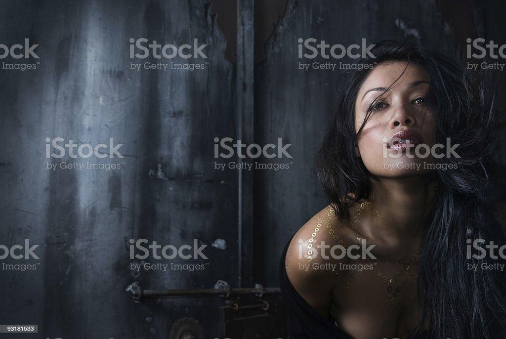Seductive Model stock photo