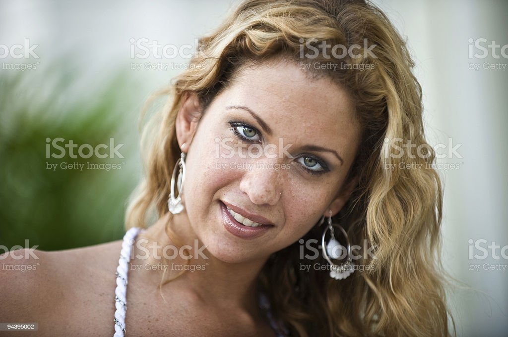 Seductive Smile royalty-free stock photo