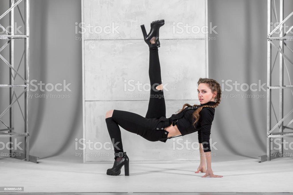 Seductive Vogue Dance stock photo