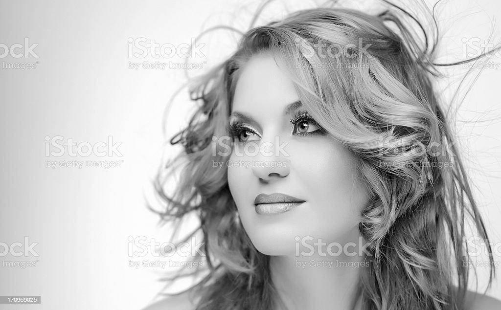 seductive woman stock photo