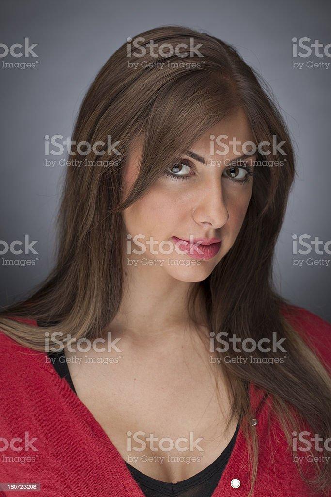seductive woman royalty-free stock photo