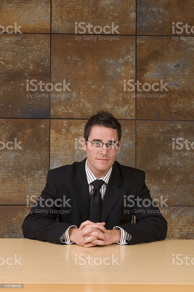 See BUSINESS Lightbox royalty-free stock photo